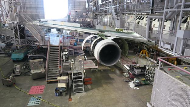 平成28年度 視察研修(JAL工場)